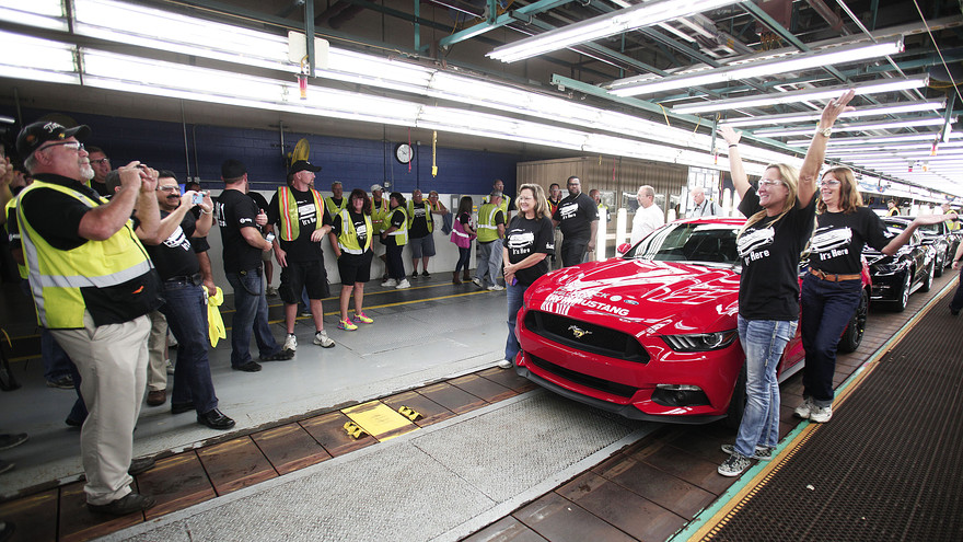 2015 Ford Mustang Production Begins | Loveland Ford Lincoln News